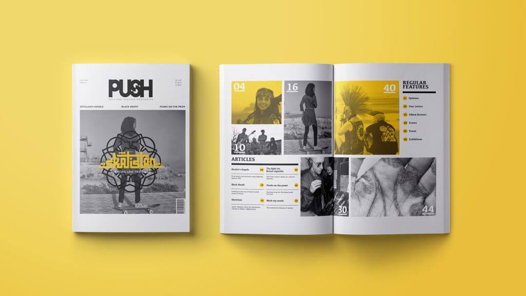 Push Magazine Design